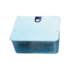 FLOOR-810 Zinc-Plated Underground Foundation Box
